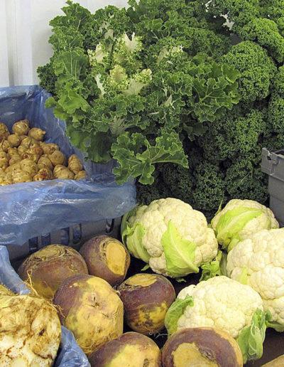Grönsaker i butiken